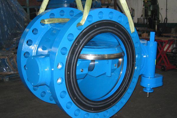 DN900 PN100 Butterfly valve
