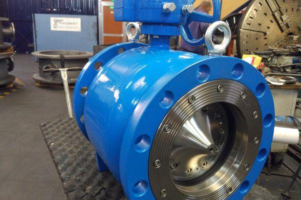 DN200 PN40 Flow control valve